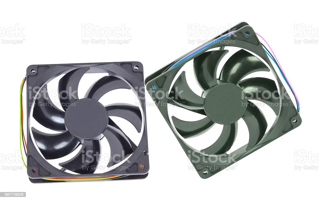 computer cooler stock photo