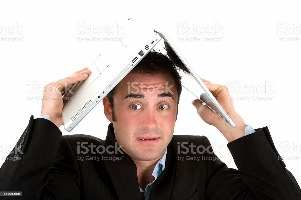 Computer Coverage stock photo