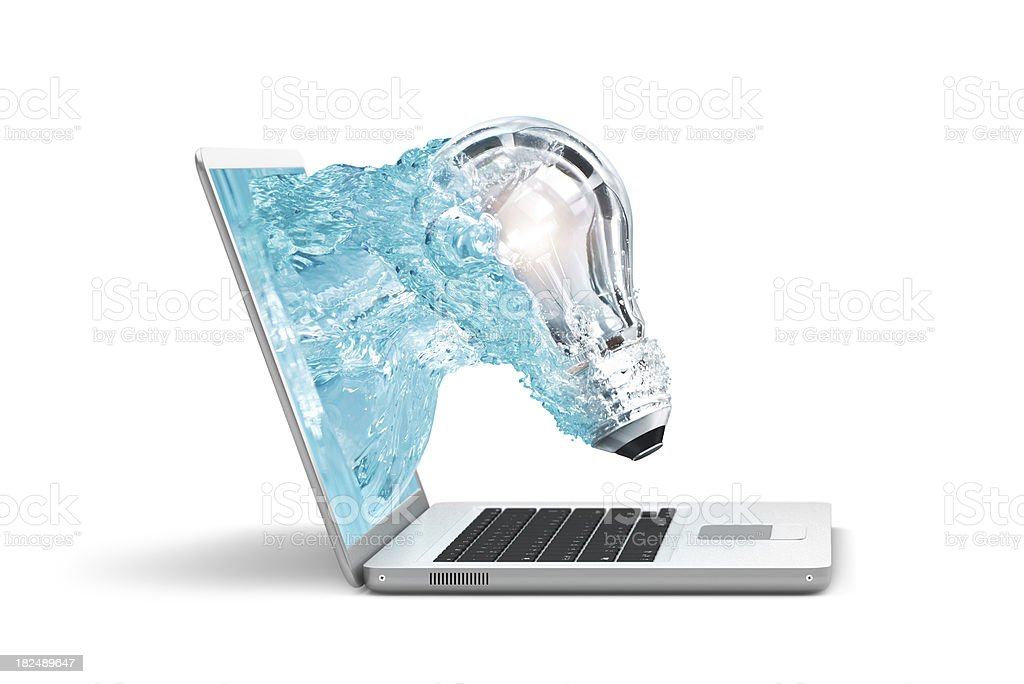 Computer Creativity stock photo