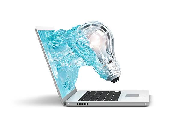 컴퓨터 창의적임 - 출현 개념 뉴스 사진 이미지