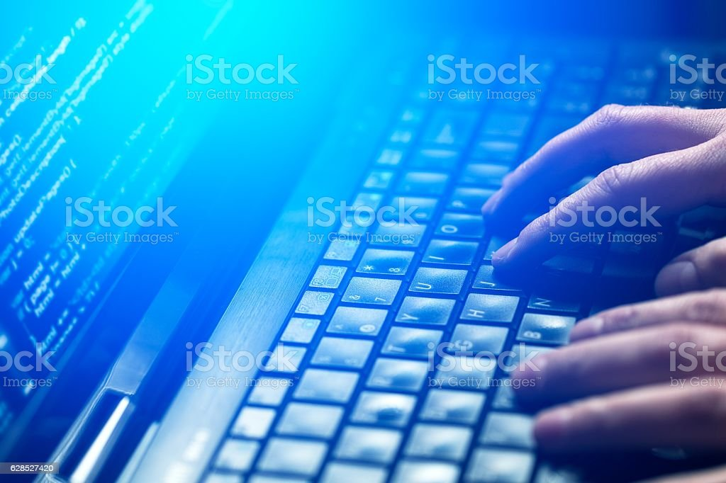 Criminalità informatica concetto foto stock royalty-free