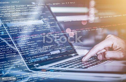 istock Computer crime concept 802775286