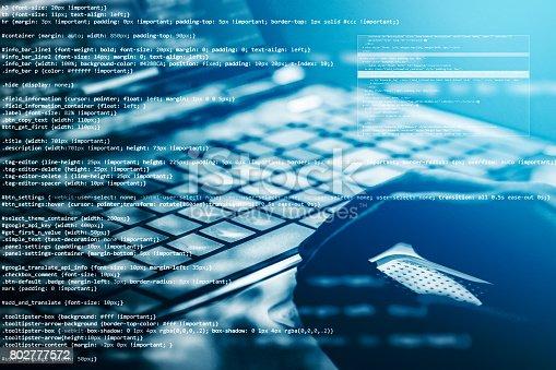 istock Computer crime concept 802777572