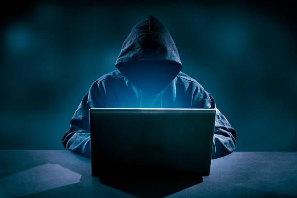computerkriminalität konzept. - scyther5 stock-fotos und bilder