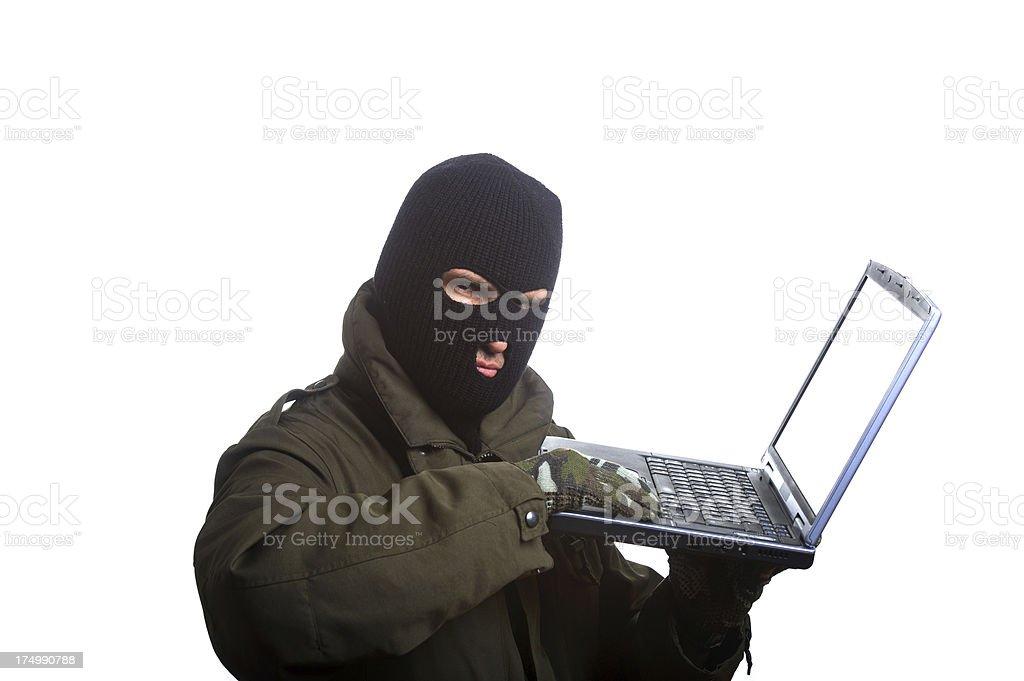 Computer Crime royalty-free stock photo