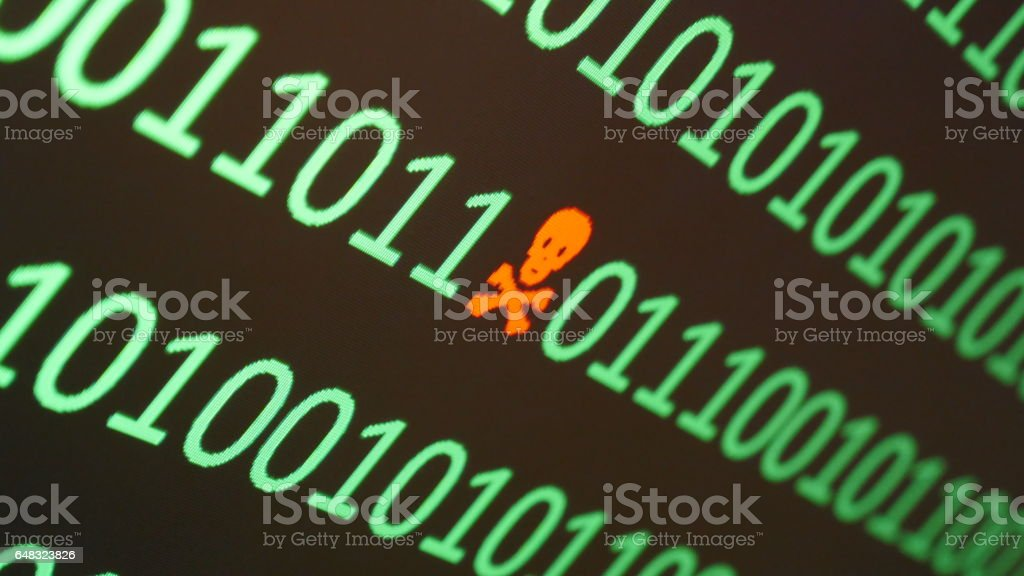 Computer Crime stock photo