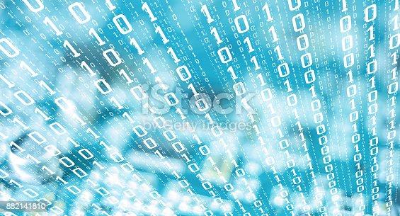 882141812istockphoto Computer cyberattack, financial cybercrime 882141810
