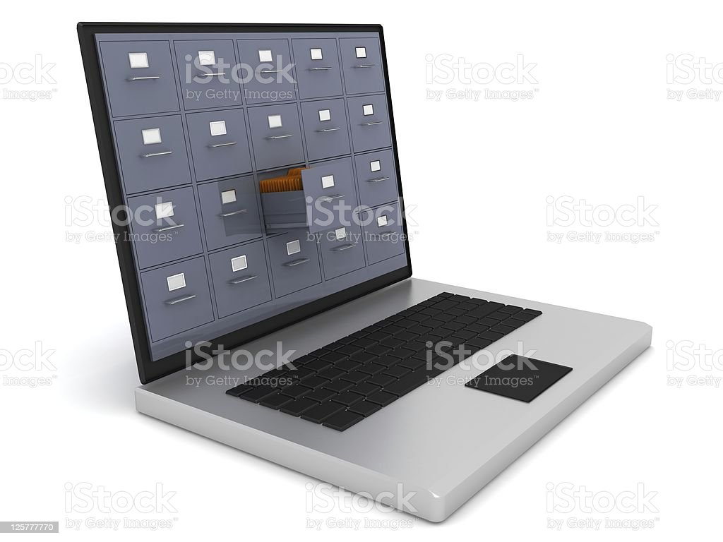 Computer Data Storage royalty-free stock photo