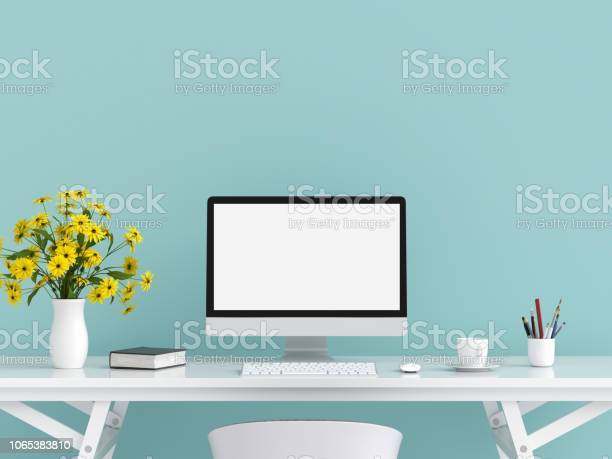 Computer display for mockup on table 3d rendering picture id1065383810?b=1&k=6&m=1065383810&s=612x612&h=gwzf5wawgbeelx3vo7sg3fmf8 femcegcavnzfwurp4=