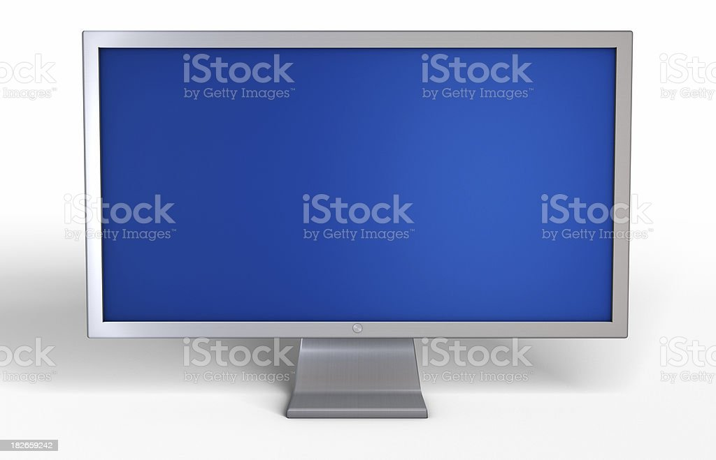 Computer Display royalty-free stock photo