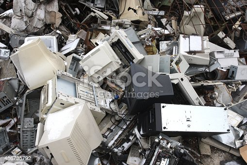 computer electronic and office parts for  recycling