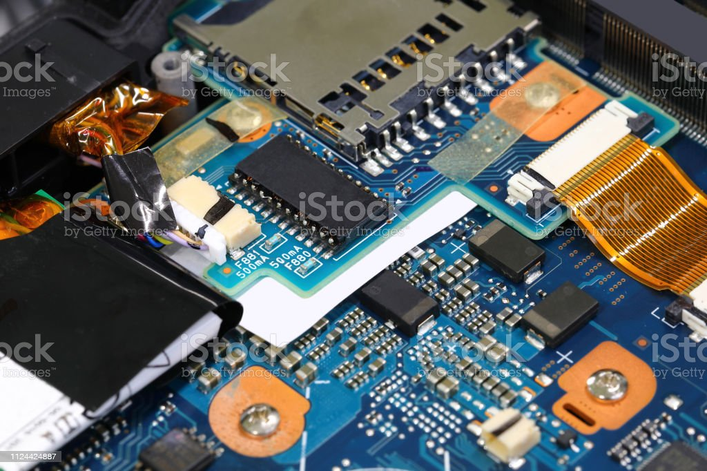 computer electronic board - foto stock