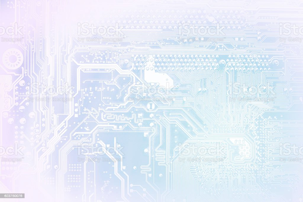 Computer electronic circuit abstract background – Foto