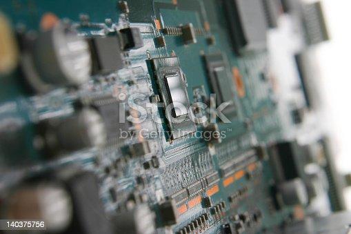 computer electronics - High technology GPU close up