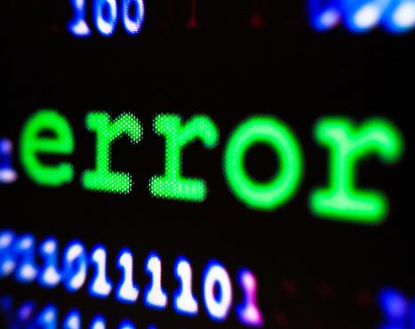 istock Computer error. 1209957442
