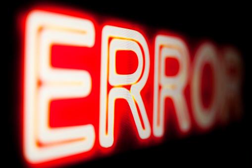 istock Computer error. 1214710728