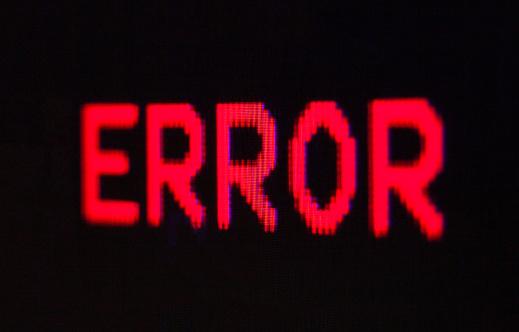 istock Computer error. 1216583301