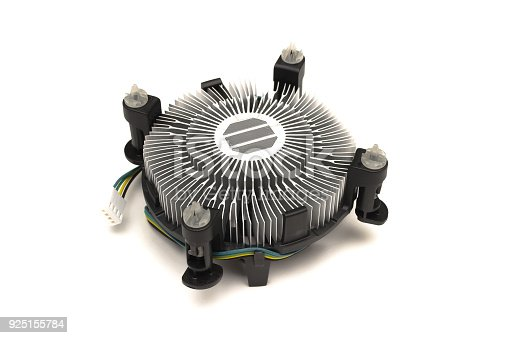 istock Computer fan cooler of CPU. 925155784