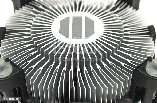 istock Computer fan cooler of CPU. 925155794
