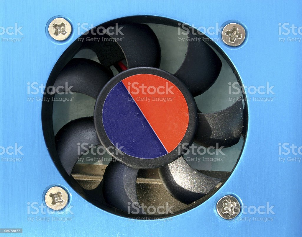 Computer Ventilatore foto stock royalty-free