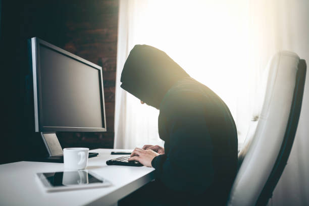 Computer-Hacker stehlen Informationen aus dem Web – Foto