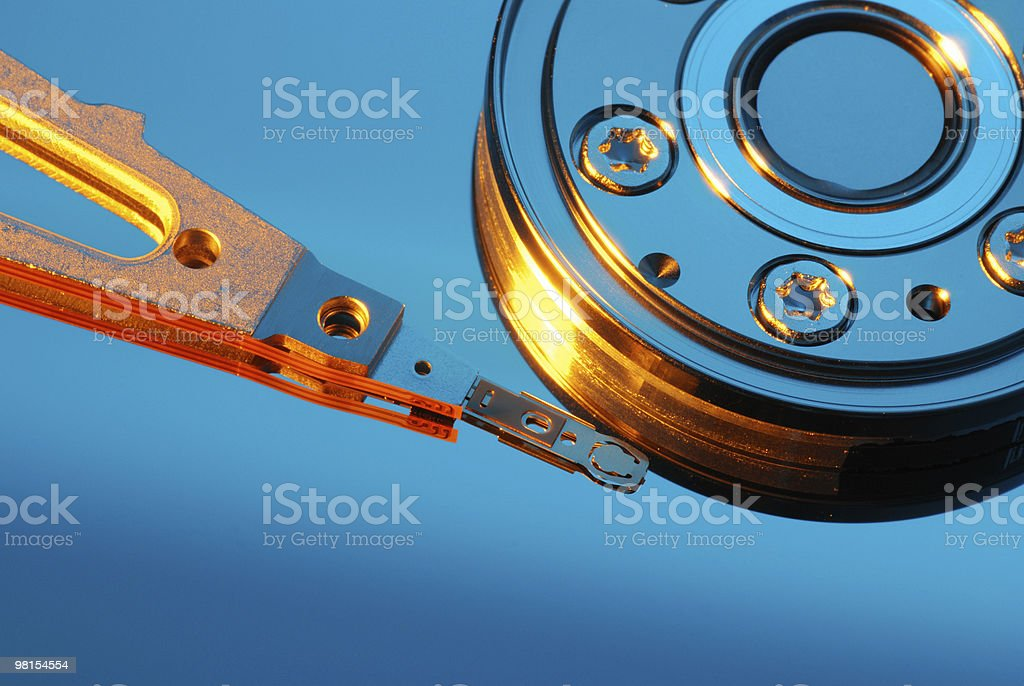 Computer Hard Drive Disk HDD royalty-free stock photo