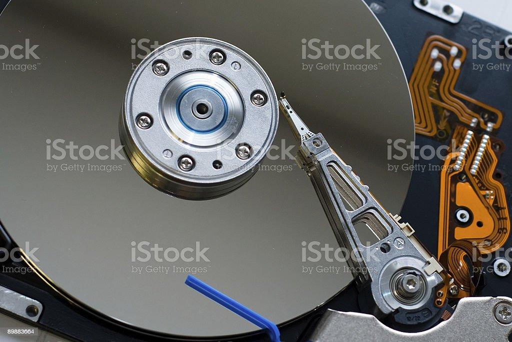 Computer Hard Drive stock photo