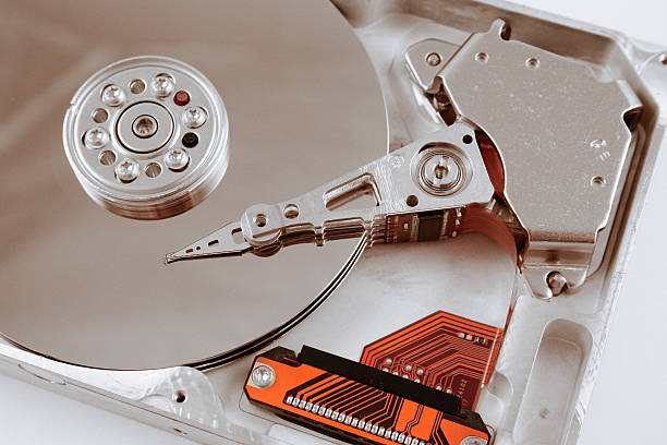 Computer Harddrive stock photo