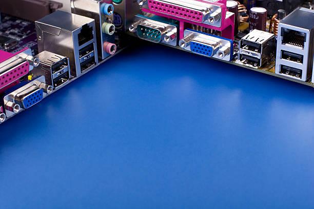 Computer hardware stock photo