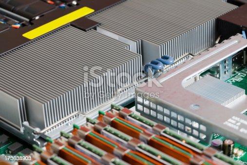 istock Computer heatsink rib assembly 173638903