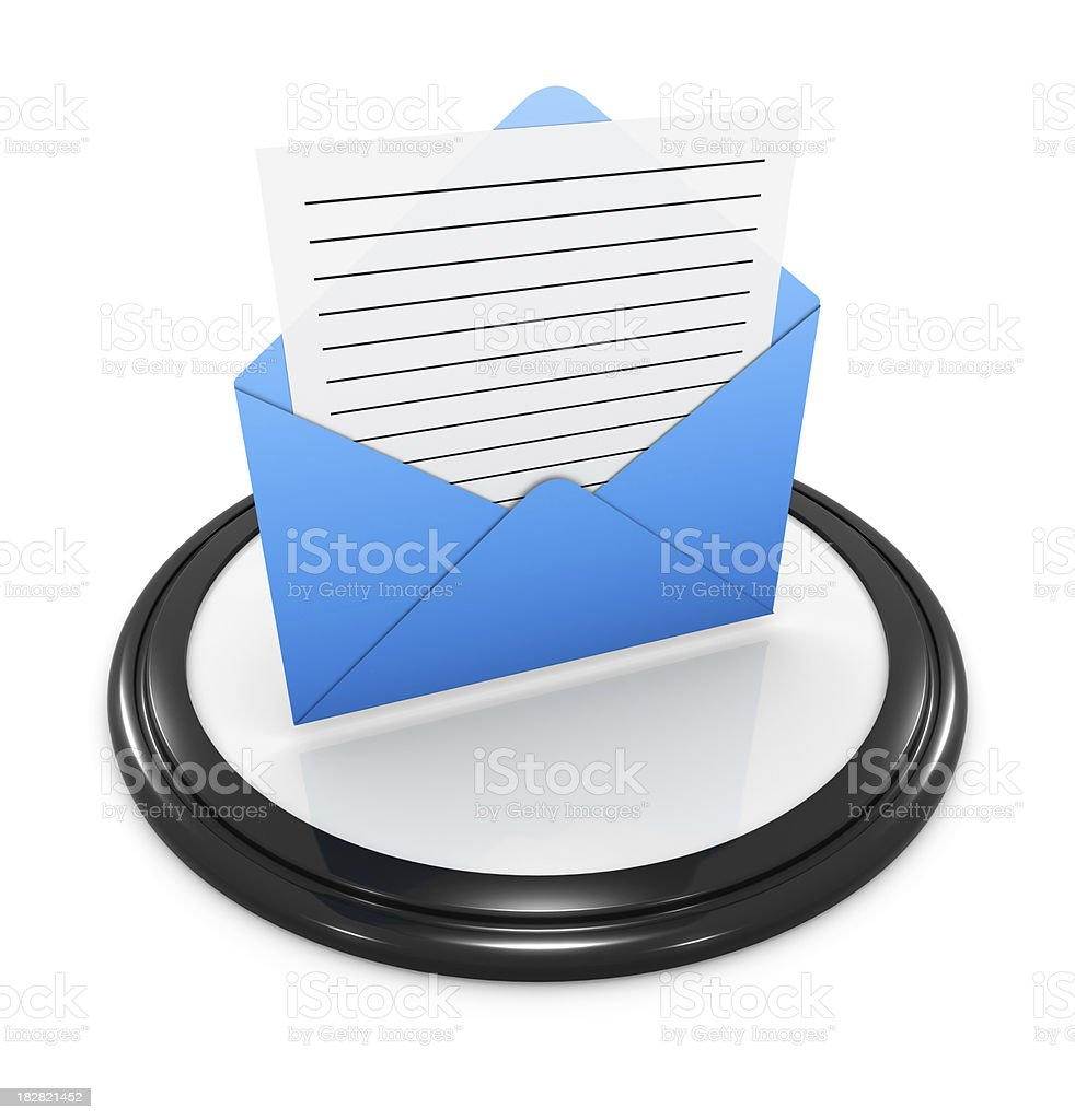 Computer Icon Series royalty-free stock photo