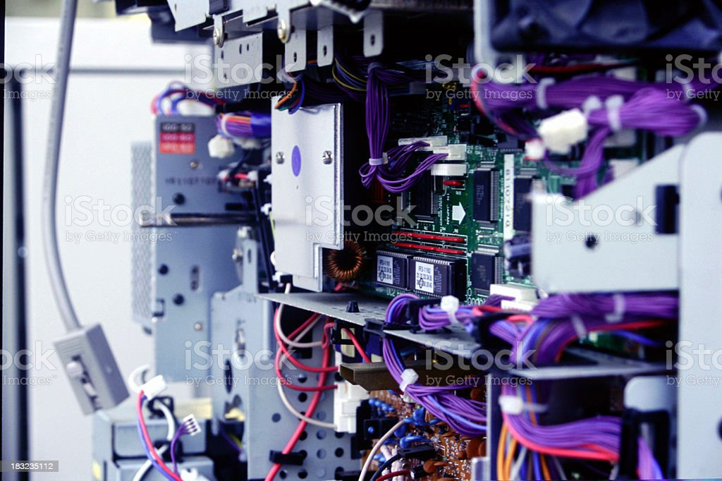 Computer Inside. royalty-free stock photo