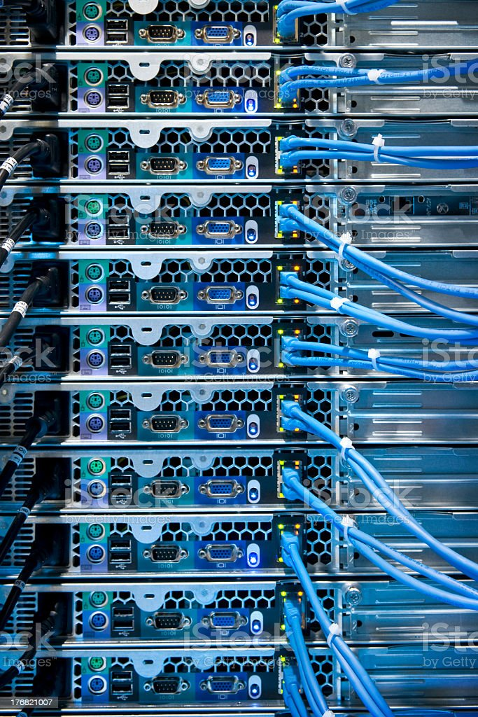 Computer Internet Server Connection royalty-free stock photo