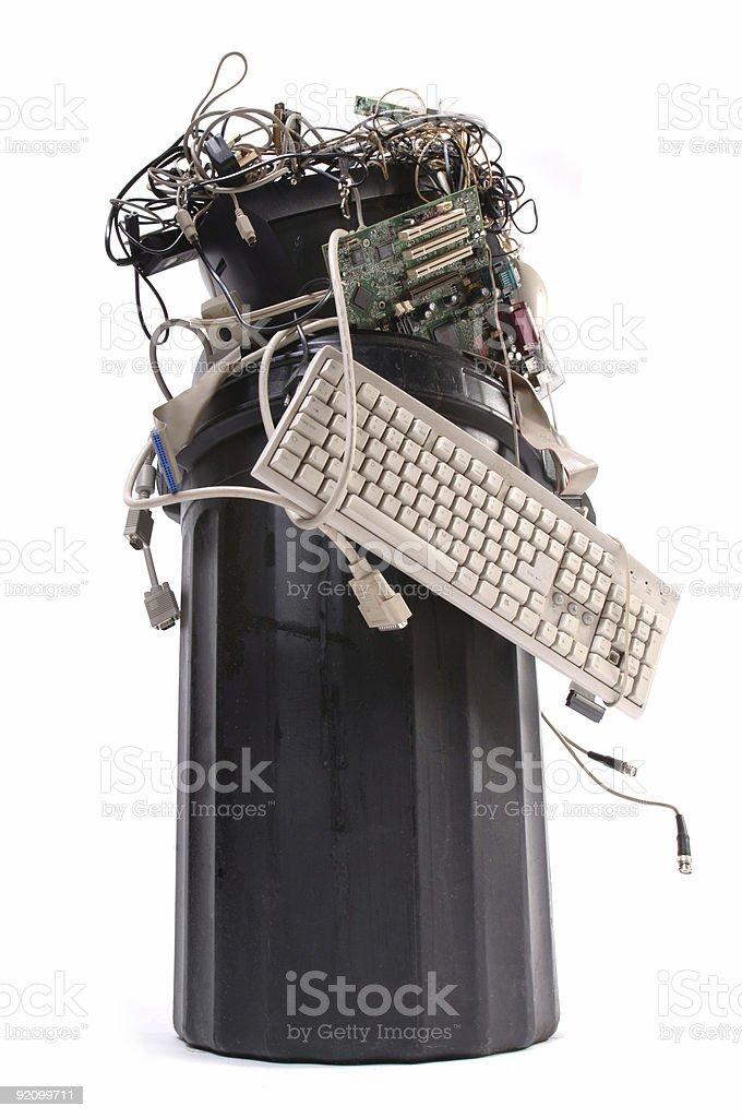 Computer Junk royalty-free stock photo