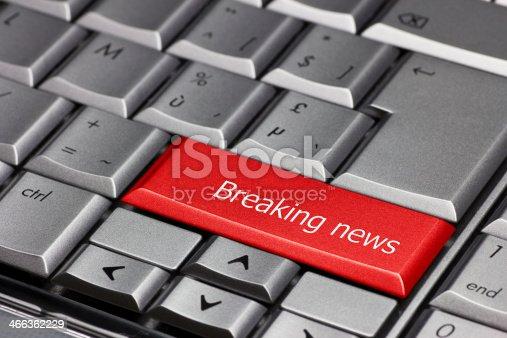 1132886484 istock photo Computer key - Breaking News 466362229