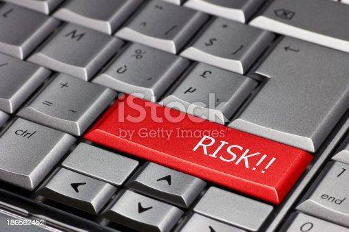 istock computer key - Risk 186562452