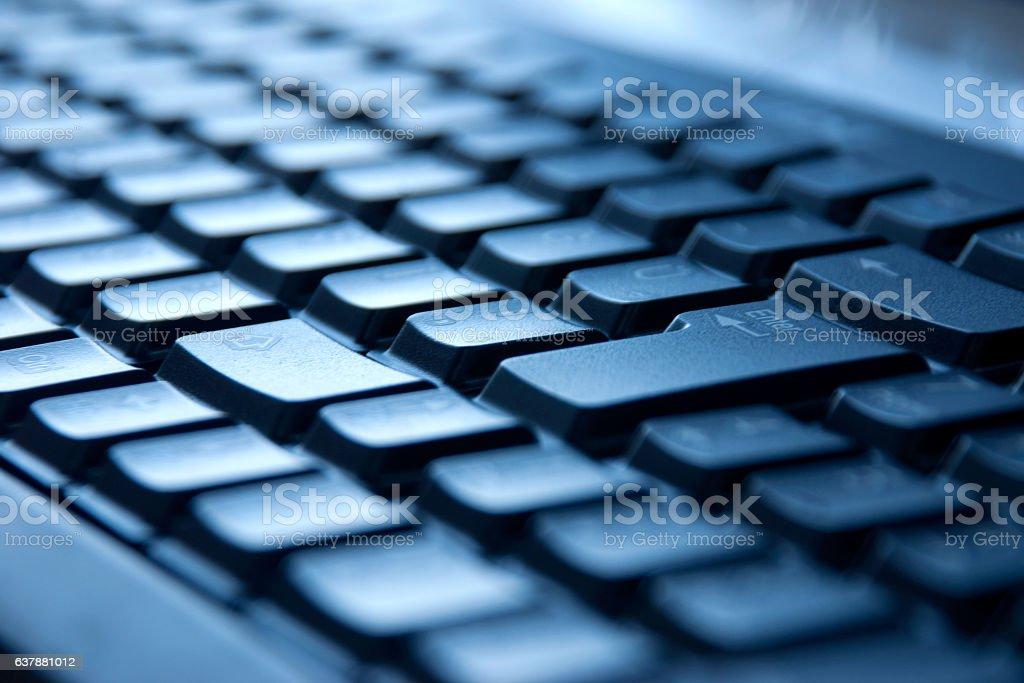 Computer keyboad stock photo