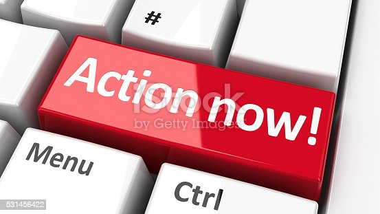 istock Computer keyboard action now #2 531456422