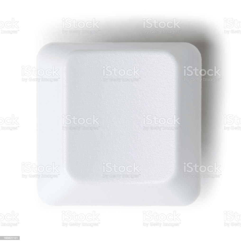 Computer keyboard button royalty-free stock photo