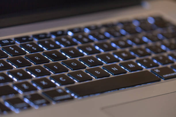macbook pro 2015 keyboard - 2015 stock pictures, royalty-free photos & images