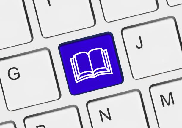 Computer keyboard with Book key – zdjęcie