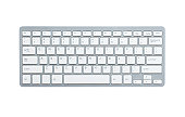 istock Computer keyboard with clipping path 153065264