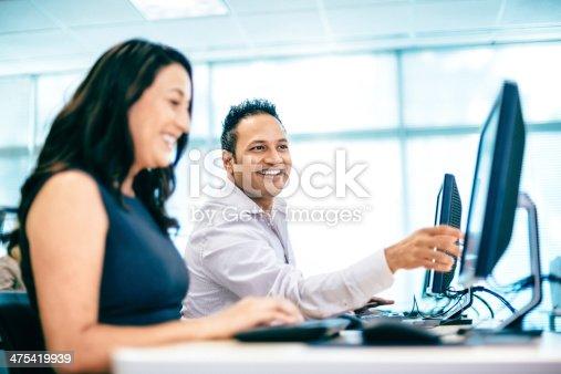 istock Computer Lab 475419939