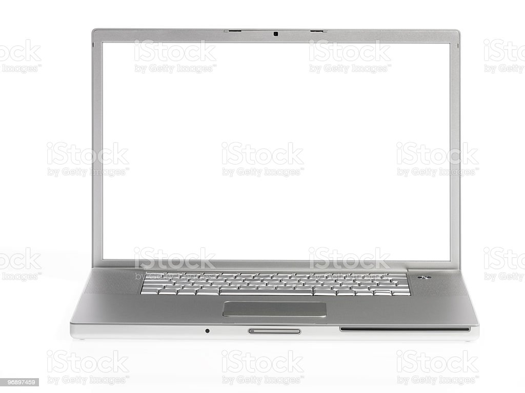 computer laptop royalty-free stock photo