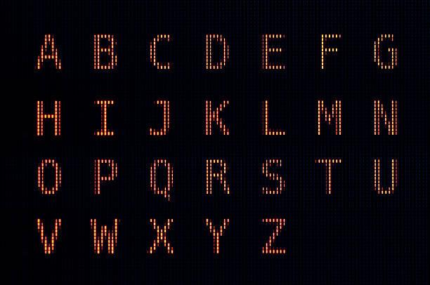 computer lcd font - ruth 個照片及圖片檔
