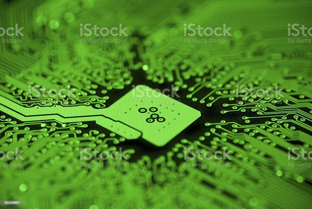 Computer Mainboard royalty-free stock photo