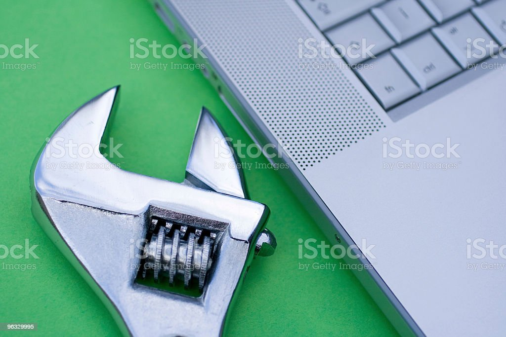 Computer maintenance royalty-free stock photo