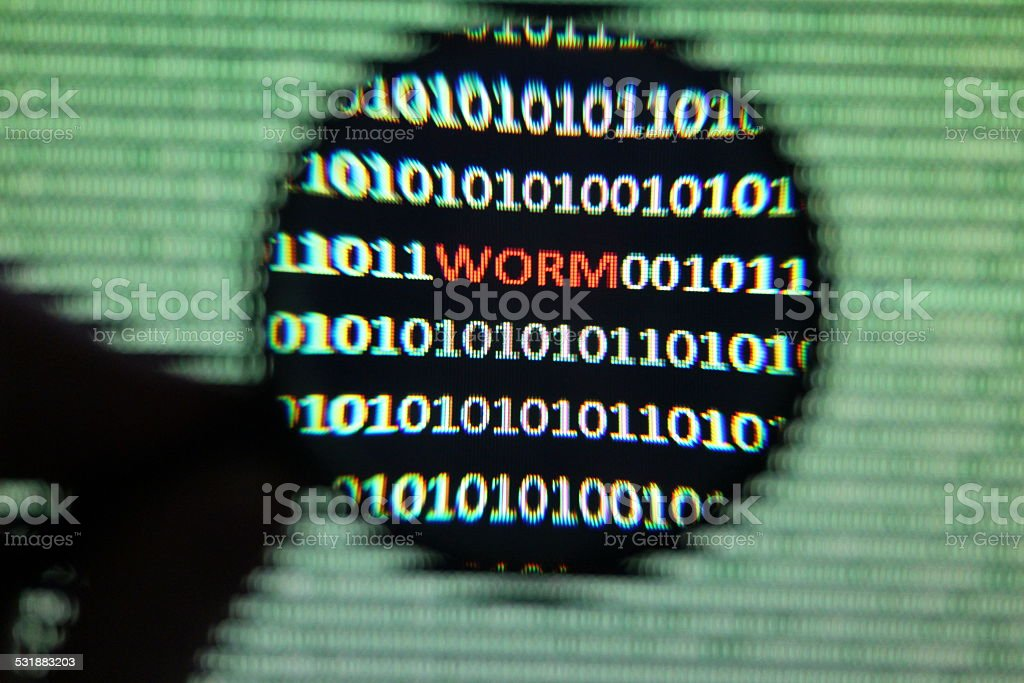 Computer Malware stock photo