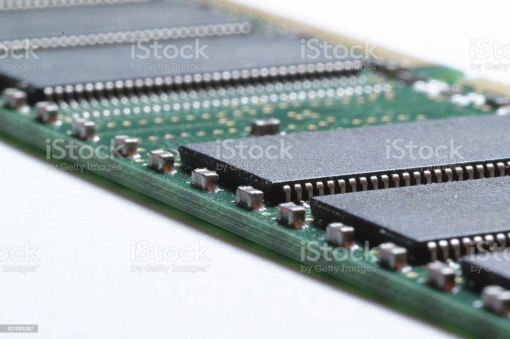 Computer Memory royalty-free stock photo