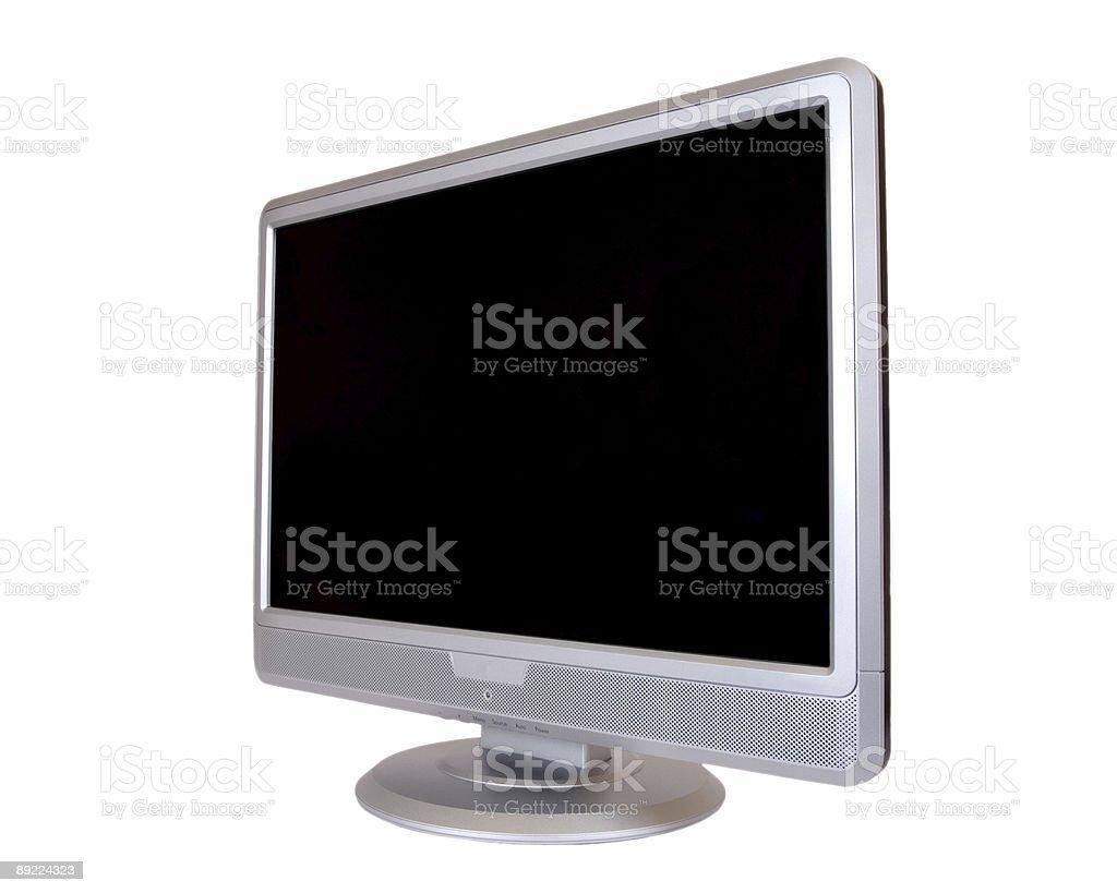 Computer Monitor stock photo